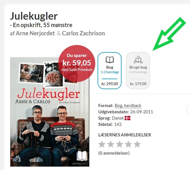 Sælg brugte bøger på saxo.dk